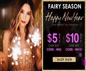 تسوق ملابسك عبر الإنترنت في Fairy Season
