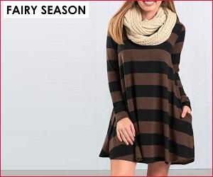 تسوق الفساتين الخاصة بك في Fairy Season