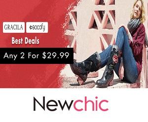 تسوق كل ما تحتاجه عبر الإنترنت على NewChic.com