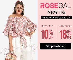 تسوق عبر الإنترنت بأفضل الأسعار المعروضة على Rosegal.com
