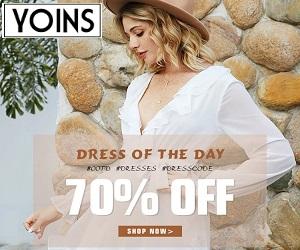 تسوق احتياجات الموضة التالية الخاصة بك في Yoins.com