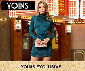 تسوقي فساتين الموضة عالية الجودة الخاصة بك على Yoins.com